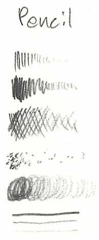 pencil test lines