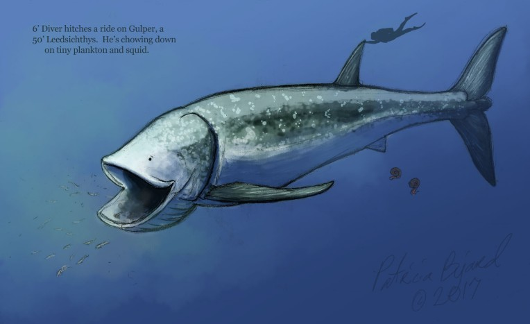 Critter Of The Week Leedsichthys Pete S Paleo Petshop