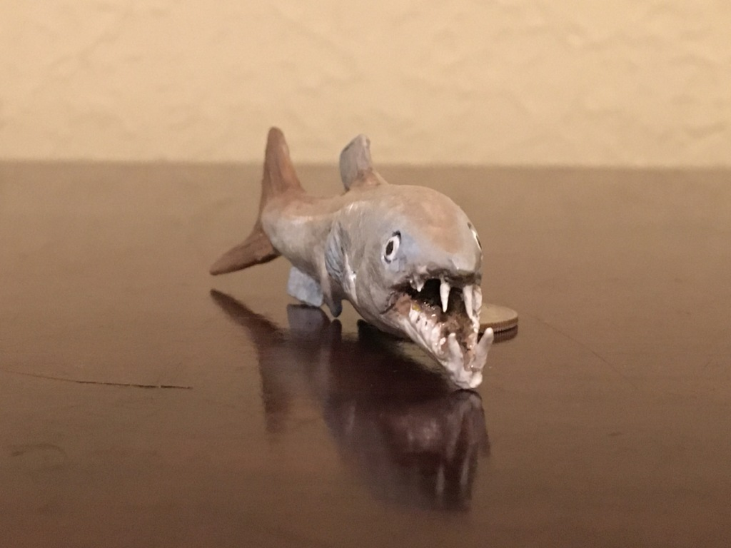 Enchodus has gnarly teeth!